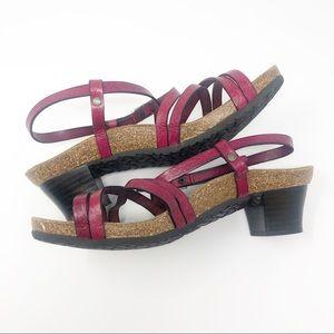Birkenstock Papillio Bella Heel Wedge Sandal 38
